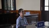 Bị cáo Trần Thị Ngọc Oanh tại phiên tòa