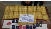 Tang vật 120.000 viên ma túy tổng hợp