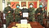 Đối tượng Kha Văn Mun bị bắt giữ cùng tang vật