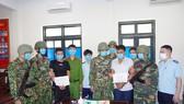 Đối tượng Trần Hải Nghĩa và Hà Bá Mít bị bắt giữ cùng tang vật