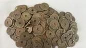 Một số đồng tiền cổ được phát hiện