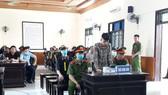 Bị cáo Phan Văn Dũng tại phiên tòa
