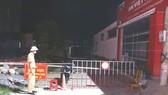 Lực lượng chức năng ở tỉnh Hà Tĩnh tiến hành phong tỏa khu vực liên quan
