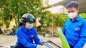 Đoàn viên thanh niên Hà Tĩnh nỗ lực chung tay với lực lượng chức năng, chính quyền địa phương chống dịch