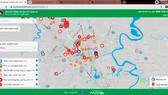 Bản đồ thông tin dịch tễ Covid-19 Hà Tĩnh được truy cập tại địa chỉ https://covidmaps.hatinh.gov.vn/.
