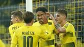 Dortmund hy vọng sẽ tiếp tục kéo dài thêm niềm vui chiến thắng tại Bundesliga. Ảnh: Getty Images