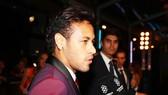 Neymar trong buổi lễ FIFA The Best 2017. Ảnh: Getty Images