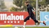 Bale trở lại tập luyện. Ảnh: Getty Images