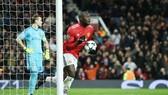 Romelu Lukaku hạnh phúc với bàn thắng thứ 2 trong vòng 13 trận. Ảnh: Getty Images