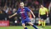 Alba không muốn Barca chúc mừng Real. Ảnh: Getty Images