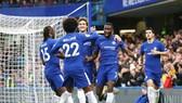 """Chelsea mở """"hội bàn thắng"""" tại Stamford Bridge ở ngày cuối cùng của năm. Ảnh: Getty Images"""