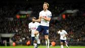 Harry Kane đã có thể ăn mừng những bàn thắng đầu tiên trong năm 2018. Ảnh: Getty Images