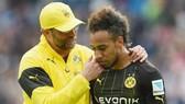 Giúp Dortmund, phải chăng Jurgen Klopp đang muốn đoàn tụ với cậu học trò Pierre-Emerick Aubameyang. Ảnh: Getty Images