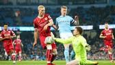 Kevin De Bruyne (phải) tiếp tục thể hiện chất lượng để giúp Man.City duy trì đà thắng. Ảnh: Getty Images