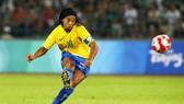 Ronaldinho đã nói lời chia tay bóng đá.Ảnh: Getty Images