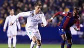Ronaldo đã không ghi bàn để giúp Real có thể vượt qua Levante.Ảnh: Getty Images