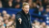 HLV Ronald Koeman sẽ gác lại nỗi thất vọng ở Everton cho khởi đầu mới. Ảnh: Getty Images
