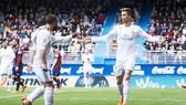 Ronaldo và Carvajal (2) đều được CIES chấm điểm cao. Ảnh: Getty Images