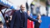 HLV Zidane đã có cho mình những toan tính riêng khi đối đầu với Juventus.Ảnh: Getty Images
