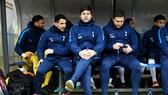 HLV Mauricio Pochettino cùng các cộng sự đã gia hạn hợp đồng mới. Ảnh: Getty Images