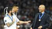 Zidane tạo nên kỷ lục chưa từng có cùng Real. Ảnh: Getty Images