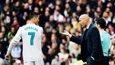 Ronaldo thất vọng cùng cực khi Zidane ra đi. Ảnh: Getty Images