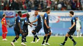 Tuyển Pháp sau niềm vui vẫn còn là nỗi ám ảnh thất bại 2 năm trước. Ảnh: Getty Images
