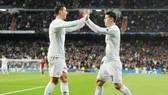 Real đang cân nhắc gọi lại James để khỏa lấp vào vị trí Ronaldo.  Ảnh: Getty Images