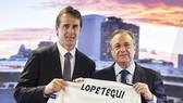 HLV Lopetegui đang phải sống và làm việc trong hình thái chuyển nhượng mới của Real. Ảnh: Getty Images