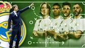 HLV Lopetegui sẽ chọn sơ đồ nào cho Real. Ảnh Marca.