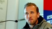 Harry Kane tự tin trong buổi họp báo. Ảnh: Getty Images