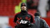 Paul Pogba rất thất vọng với thân phận dự bị vào lúc này. Ảnh: Getty Images