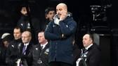 HLV Pep Guardiola không giấu nỗi thất vọng khi chứng kiến thất bại. Ảnh: Getty Images