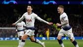 Son Heung-min đã ghi bàn thắng quý giá mang về lợi thế cho Tottenham. Ảnh: Getty Images