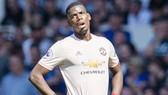 """Paul Pogba thất vọng sau trần cầu mà anh cũng hoàn toàn """"biến mất"""" tại Everton. Ảnh: Getty Images"""
