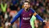 Lionel Messi đang có mùa giải bùng nổ cùng Barcelona. Ảnh: Getty Images