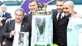 Pep Guardiola đang khiến nụ cười trên mặt các quan chức Man.City không bao giờ tắt. Ảnh: Getty Images
