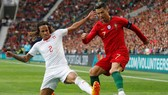 Cristiano Ronaldo vẫn gọn gàng và chính xác trong các màn trình diễn. Ảnh: Getty Images