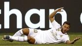 Eden Hazard tiếp tục gây thất vọng trong màu áo mới. Ảnh: Getty Images