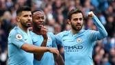 Các ngôi sao tấn công của Man.City liệu sẽ mở tiệc bàn thắng ở Norwich? Ảnh: Getty Images
