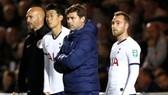 HLV Mauricio Pochettino đau đầu giải quyết bất ổn ở Tottenham. Ảnh: Getty Images