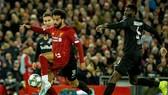 Mohamed Salah đã tỏa sáng kịp lúc để giải cứu Liverpool. Ảnh: Getty Images