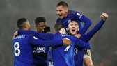 Leicester đã có trận cầu đi vào lịch sử. Ảnh: Getty Images