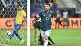 Lionel Messi ghi bàn duy nhất giúp Argentina chiến thắng. Ảnh: Getty Images
