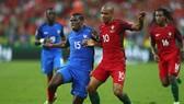 Pháp (trái) sớm có cơ hội phục thù Bồ Đào Nha sau thất bại ở chung kết EURO 2016. Ảnh: Getty Images