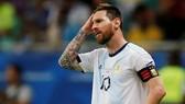 Lionel Messi đầy thất vọng tại Copa America 2019. Ảnh: Getty Images