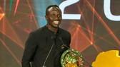 Sadio Mane lần đầu được vinh danh Cầu thủ châu Phi xuất sắc nhất. Ảnh: Getty Images