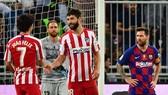 Lionel Messi thất vọng sau thất bại. Ảnh: Getty Images