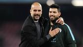 HLV Pep Guardiola hài lòng chứng kiến màn hủy diệt Aston Villa 6-1 ở vòng đấu trước. Ảnh: Getty Images