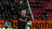 Đến giải đấu mới và CLB mới, nhưng bản năng ghi bàn của Erling Braut Haaland thì vẫn như cũ. Ảnh: Getty Images